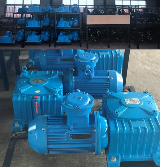 Mud tank agitators are preparing to delivery to Kazakhstan
