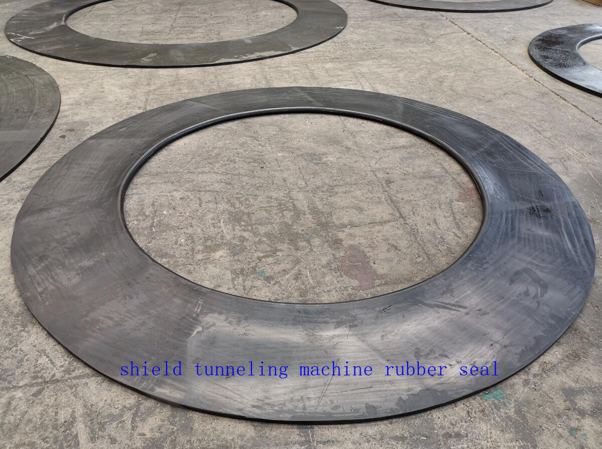 Shield Tunneling machine rubber gaskets are deliveried to Clients